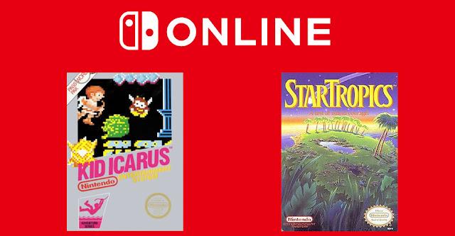 Kid Icarus e StarTropics são os games de março do Nintendo Switch Online