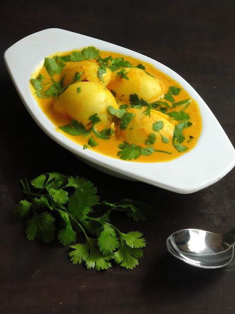 Kerala Egg Curry, Nadan Mutta Curry