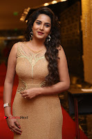 Actress Himaja Stills in Golden Spicy Long Dress at SIIMA Short Film Awards 2017 .COM 0231.JPG
