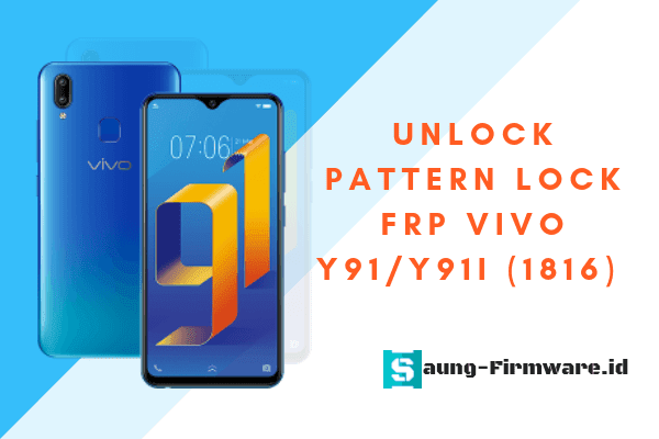 Remove Pattern Lock & FRP Vivo Y91/Y91i (1816) MT6762 Android 8.1 With MRT Dongle