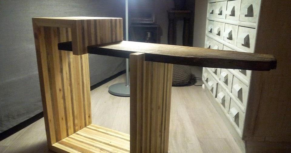 mesa para la tv de diseo hecha con tablas de palets