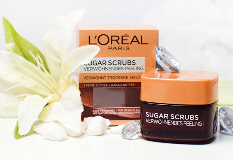 L'Oréal Paris Sugar Scrubs Verwöhnendes Peeling,Test