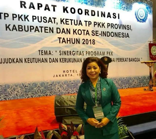 Ikuti Rakor PKK di Jakarta, Nurliah Harapkan Kunjungan Iriana Joko Widodo ke Tana Toraja