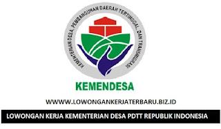 LOWONGAN KERJA ONLINE TERBARU DI KEMENTERIAN DESA PDTT REPUBLIK INDONESIA - MEI 2017