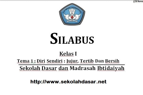 Download Silabus Tematik Sd Kurikulum 2013 Sekolahdasar Net