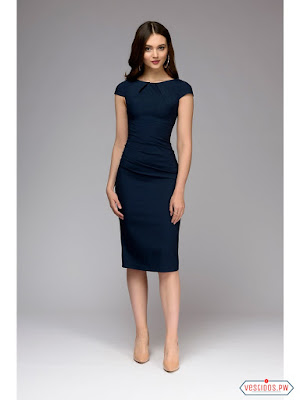 Vestidos Color Azul Marino