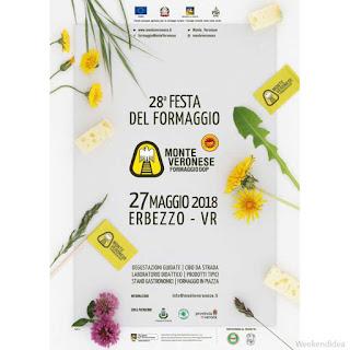 Festa del formaggio Monte Veronese DOP 27 maggio Erbezzo (VR)