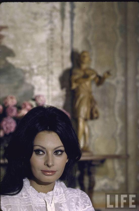 Love Story Sophia Loren and Carlo Ponti, Rome Italy