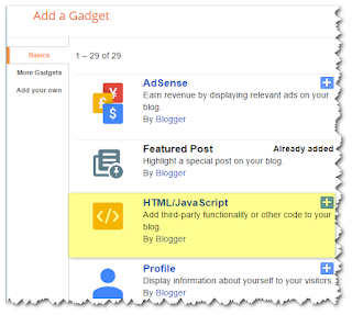 How to Add Social Media Widget for Blogger, Social Media Widget for Blogger