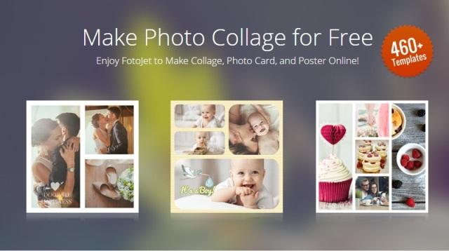 Buat Foto Kolase (Collage) Online Mudah Dengan FotoJet