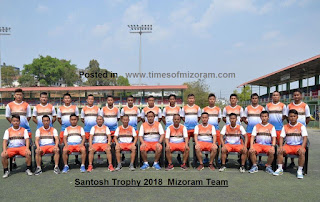 MIZORAM TO PLAY SANTOSH TROPHY SEMIFINAL