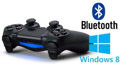 Cara Seting Menghubungkan Controller/stick PS4 DualShock 4 Ke PC/Laptop