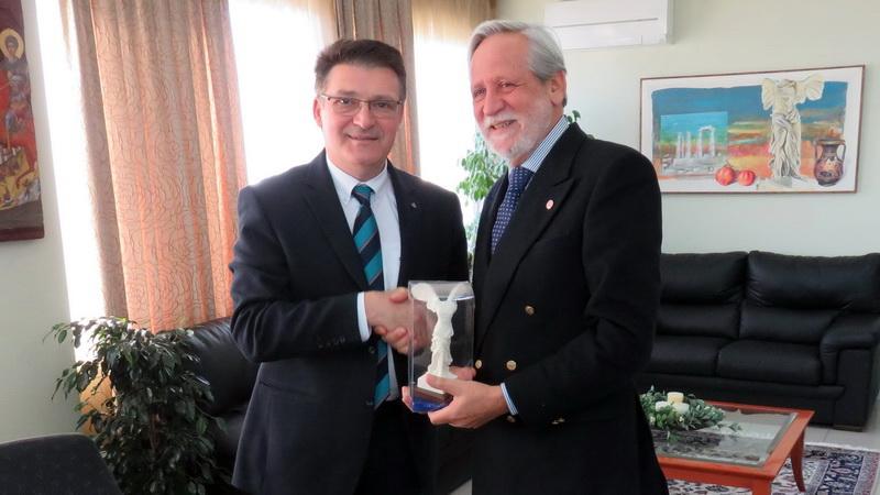 Συνάντηση του Αντιπεριφερειάρχη Έβρου με τον Πρόεδρο των Special Olympics