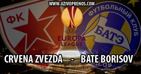LIGA EVROPE: Crvena zvezda - BATE Borisov UŽIVO PRENOS