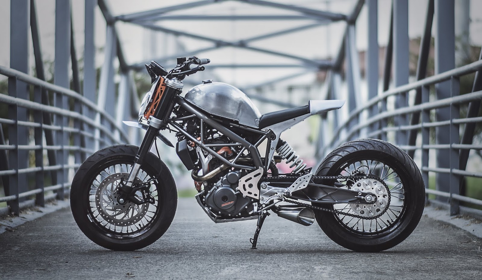 ktm duke 390 silver arrow by pasquale motors bogota motoauto