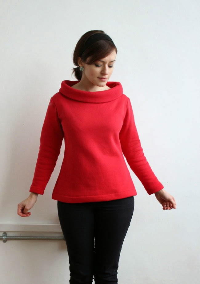 Tips for Sewing Sweatshirt Knits