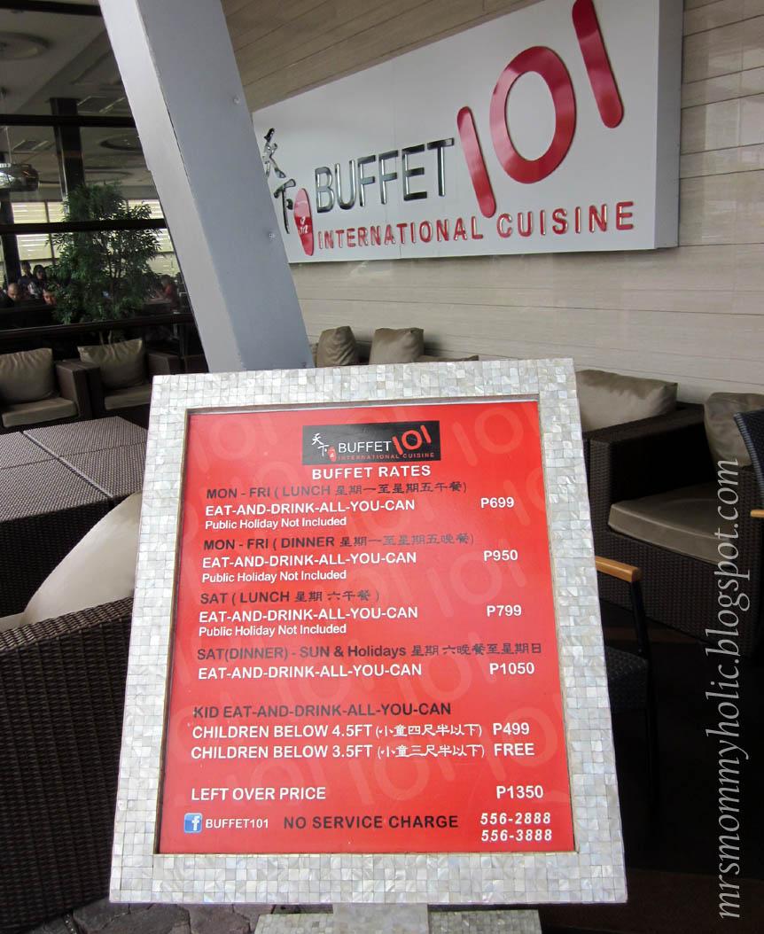 mrsmommyholic buffet 101 moa branch rh mrsmommyholic blogspot com