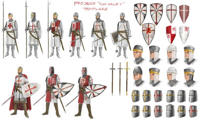 Crusedar ordo templar dalam perang salib