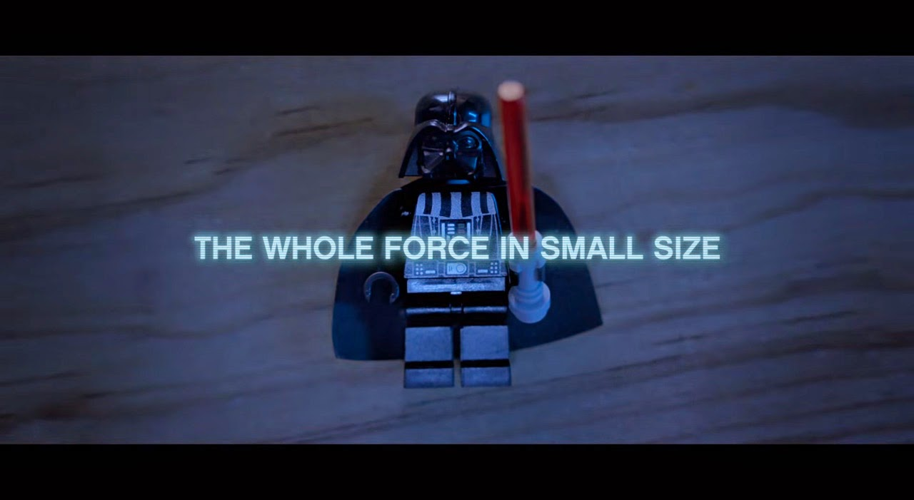 LEGO, The whole force in small size