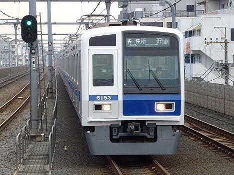 【平成最後の正月運転!】6000系の西武池袋線 各停 所沢行き