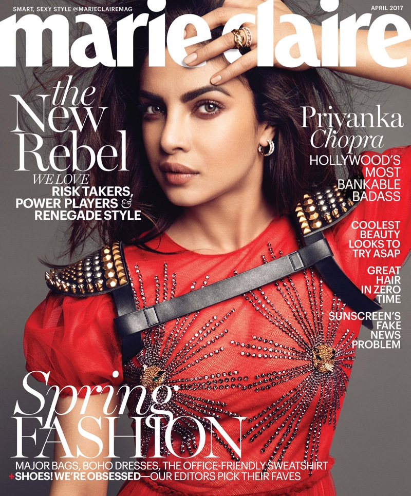 Priyanka Chopra talks love life with Marie Claire April 2017