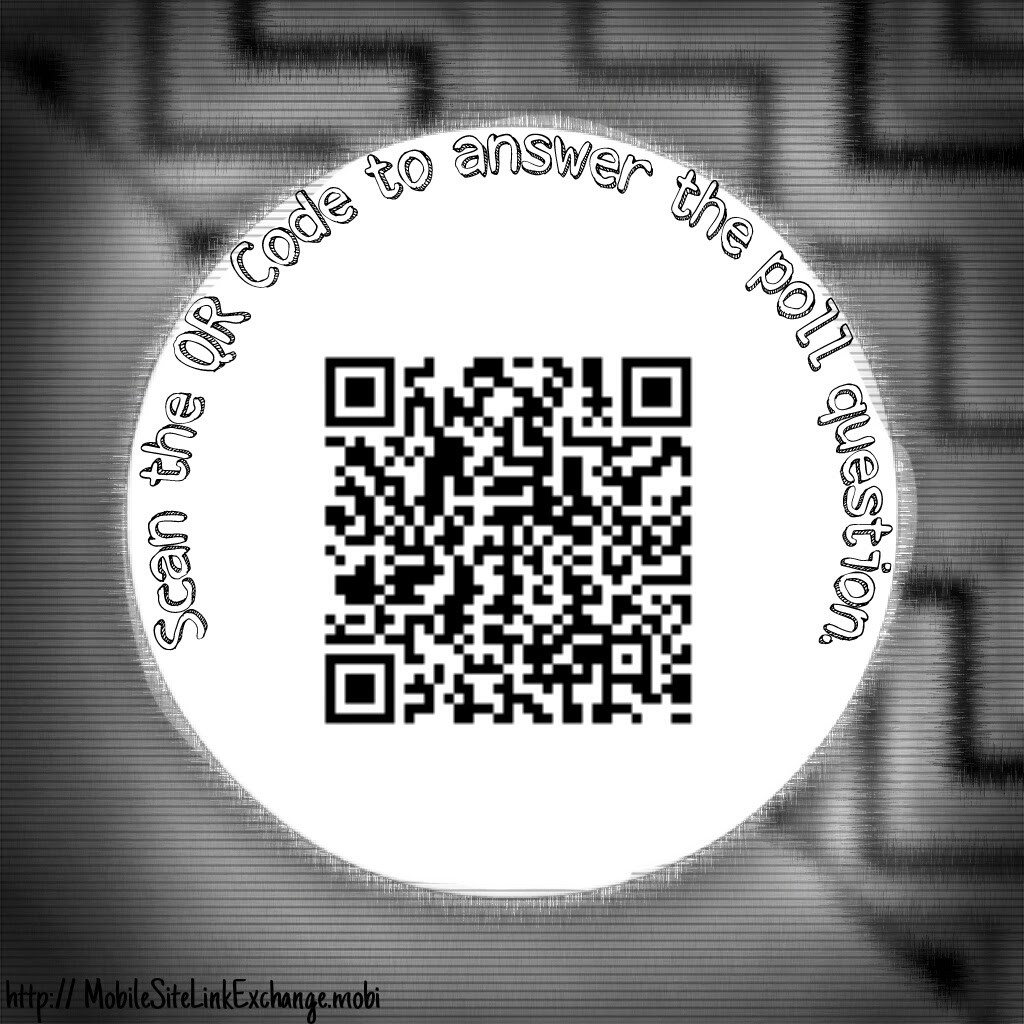 Photo of QR Code Polling
