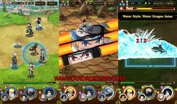 Ultimate Ninja Blazing Mod Apk for Android
