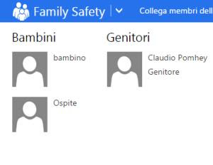 family safety per proteggere il pc