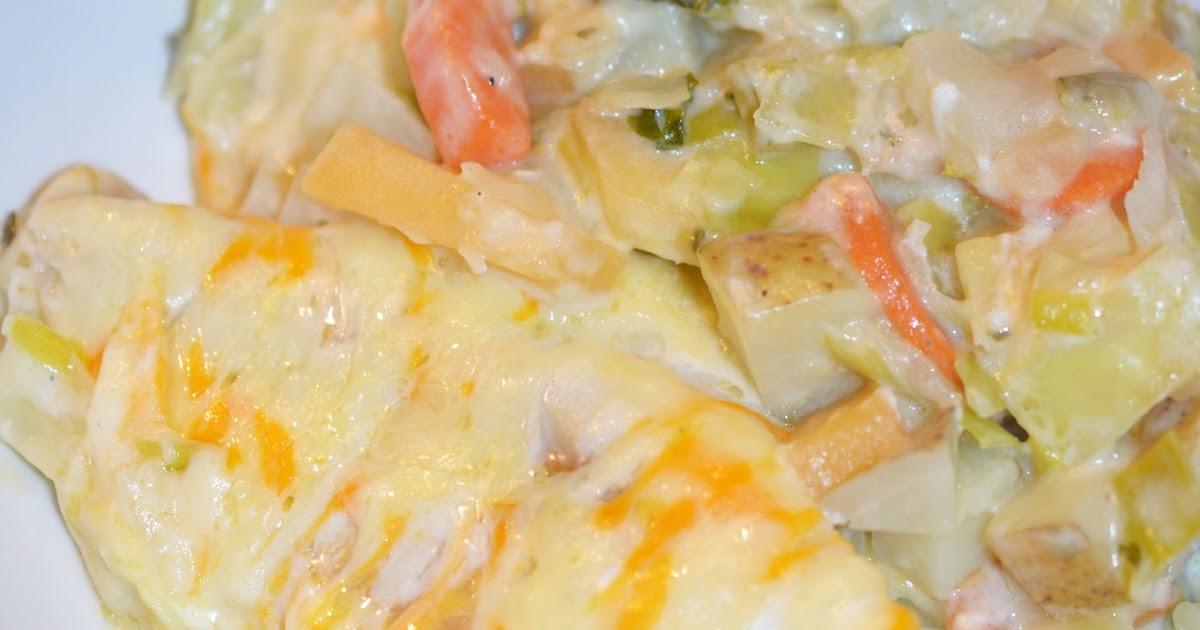 Lili popotte gratin de chou patates et poisson blanc - Cuisiner poisson blanc ...
