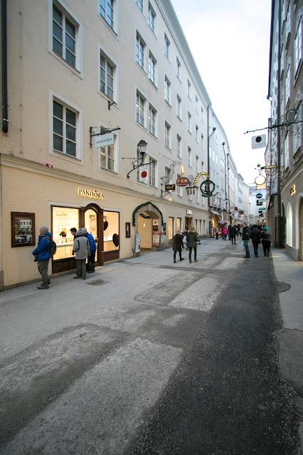 Getreidegasse-Salisburgo