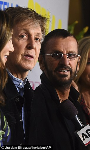 Paul McCartney Enjoys A Mini Beatles Reunion At Daughter Stellas Event In LA As He Catches Up With Ringo Starr On The Red Carpet