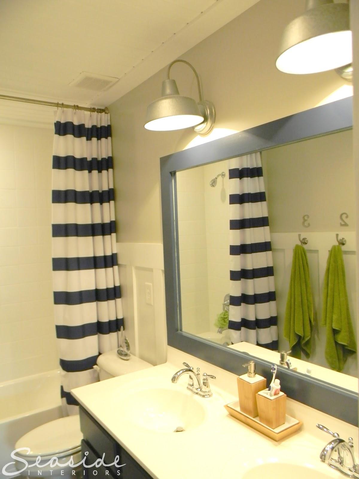 Seaside Interiors Kids Nautical Bathroom Reveal