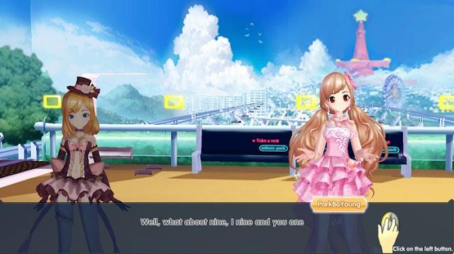 Visual Novel Dance ON