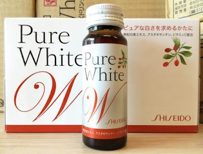 cách sử dụng collagen shiseido pure white dạng nước