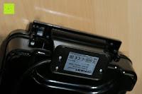 unten hinten: Waffeleisen Belgisch für 4 belgische Waffeln,XXL Waffelautomat,brüssler Doppel,Thermostat, stufenlose Temperatureinstellung, Backampel, Cool-Touch Griff