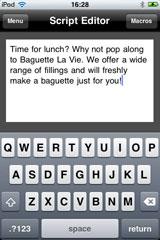 UrbanFox TV Blog: Autoscript PicoPrompt for iOS