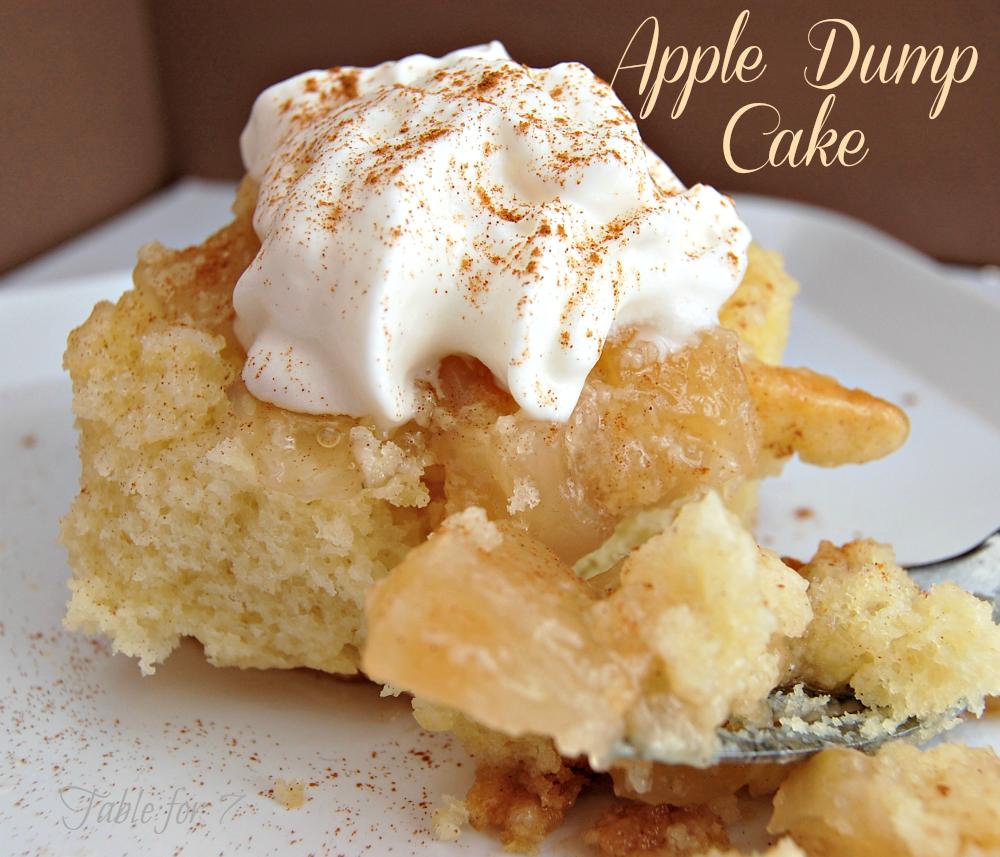 Apple Dump Cake Recipe With Fresh Apples
