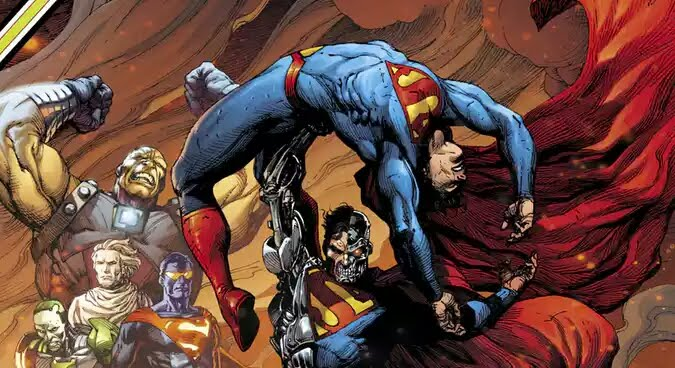Cyborg Superman, Eradicator Seek Vengeance On Superman In Action Comics.