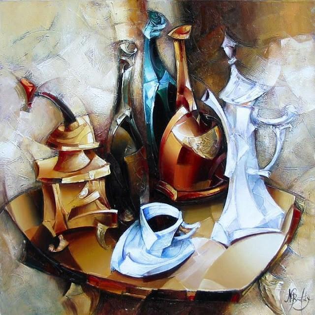 Израильский художник. Nathan Brutsky 5