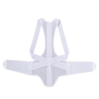 10 Back Corrector Ease Pain Kyphosis Supporter New Dancing Belt Round Back