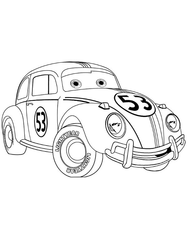 Tranh tô màu vương quốc xe hơi 25
