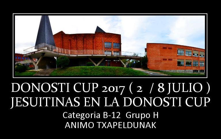 Donosti Cup Calendario Partidos.Ampa Jesuitinas Donostia Presentacion Donosti Cup 2017