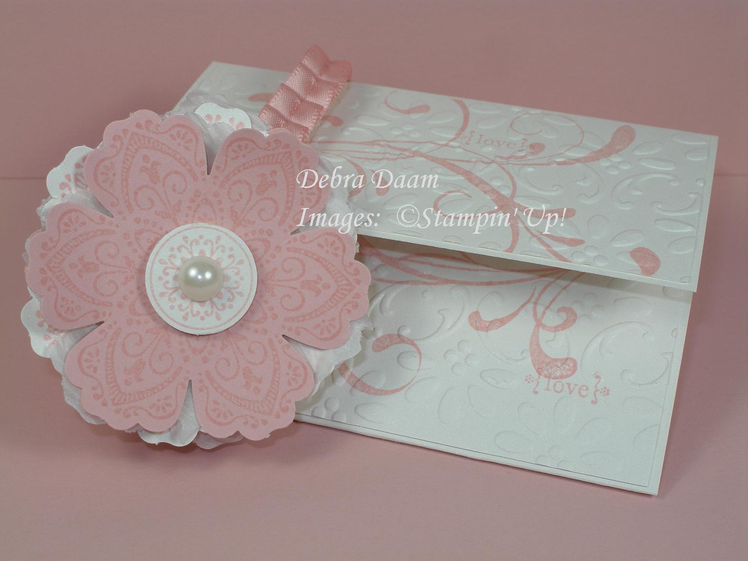 Gift Card As Wedding Gift: Debra's Stamp Life: Wedding Shower Gift Card Holder