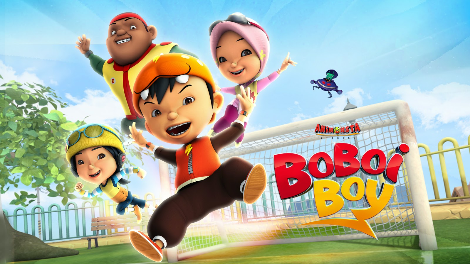 Wallpaper Gambar Kartun Boboi Boy Dunia Cerita Dan Game