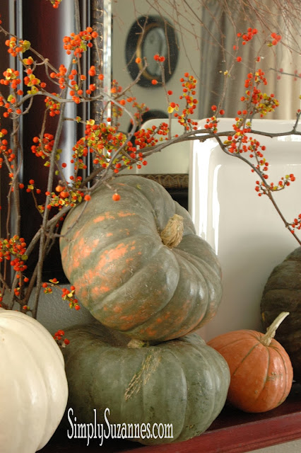 Simply Suzanne's At Home Bittersweet In Fall Decor