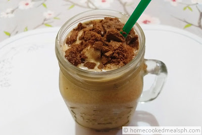 mango-graham shake, dessert recipes, dessert, snack,