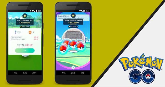 Update Pokemon Go berikutnya akan membawa bonus harian