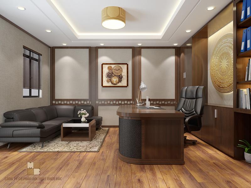 Nguyên tắc thiết kế nội thất phòng giám đốc đẳng cấp - H3