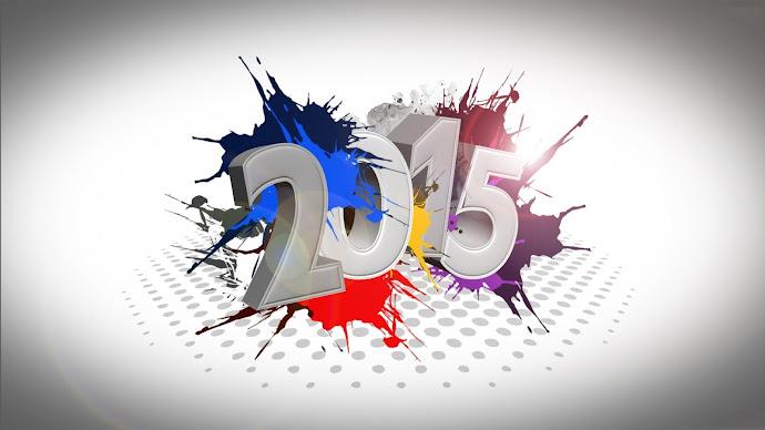 Wallpaper: 2015 Happy New Year