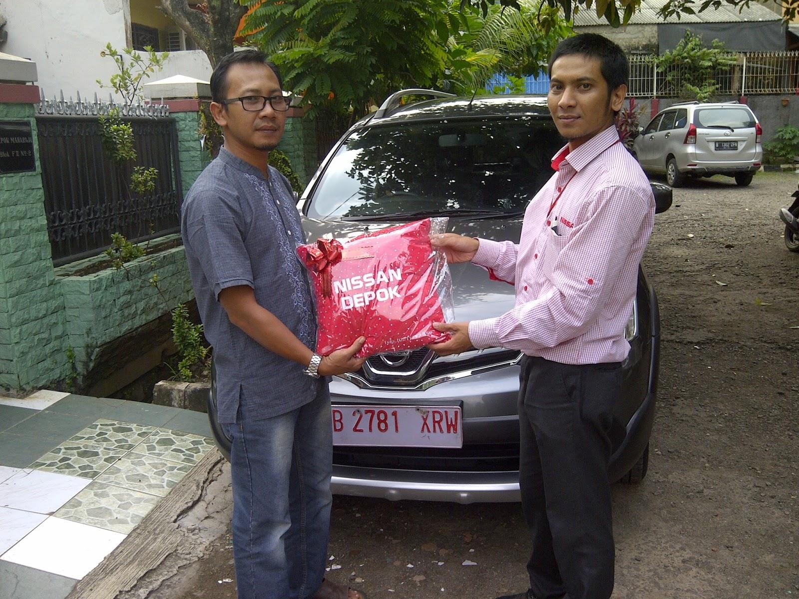 Terimakasih atas kepercayaan Pak Hery & Bu Mila yg telah membeli Nissan GL Xgear melalui media www.touchnissan.com.  Semoga Berkah ya Pak...